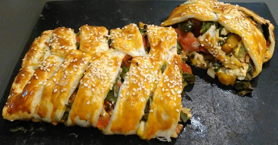 Salad Ways Roast Pumpkin Plait